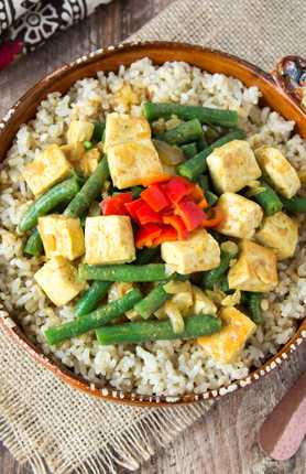 photo of Tofu Vindaloo