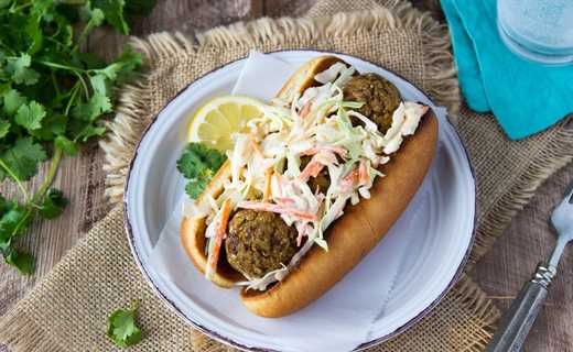 "photo of Banh Mi ""Meatball"" Subs"