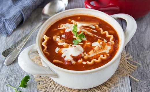 photo of Lasagna Soup