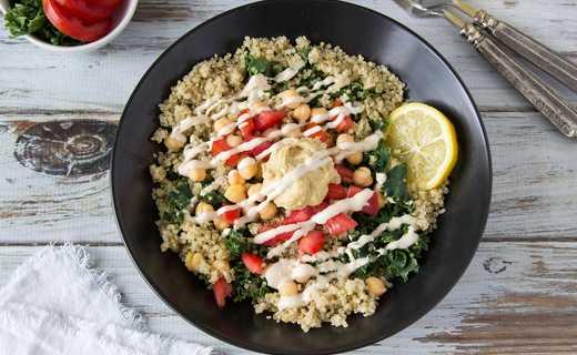 photo of Falafel'd Quinoa