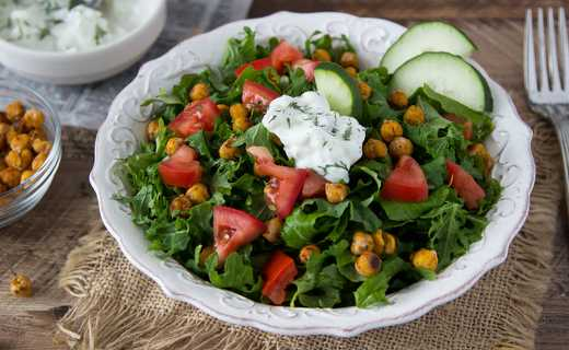 photo of Chickpea Gyro Salad