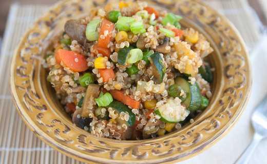 photo of Quinoa Unfried Rice