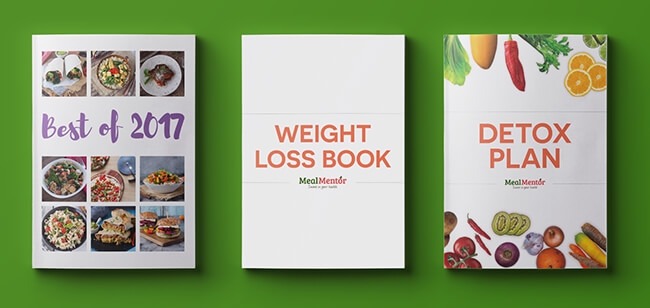 Best of 2017, Weight Loss book, and Detox Plan