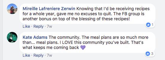 Mirelle's testimonial