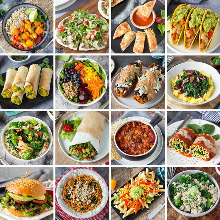 Meal Mentor Recipe Collage