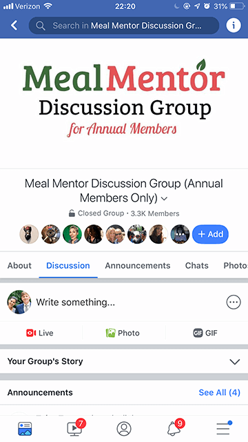 Facebook VIP Group & Discussion Forums